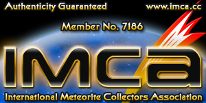 Rafael Balaguer és el membre número 7186 de la International Meteorite Collectors Association