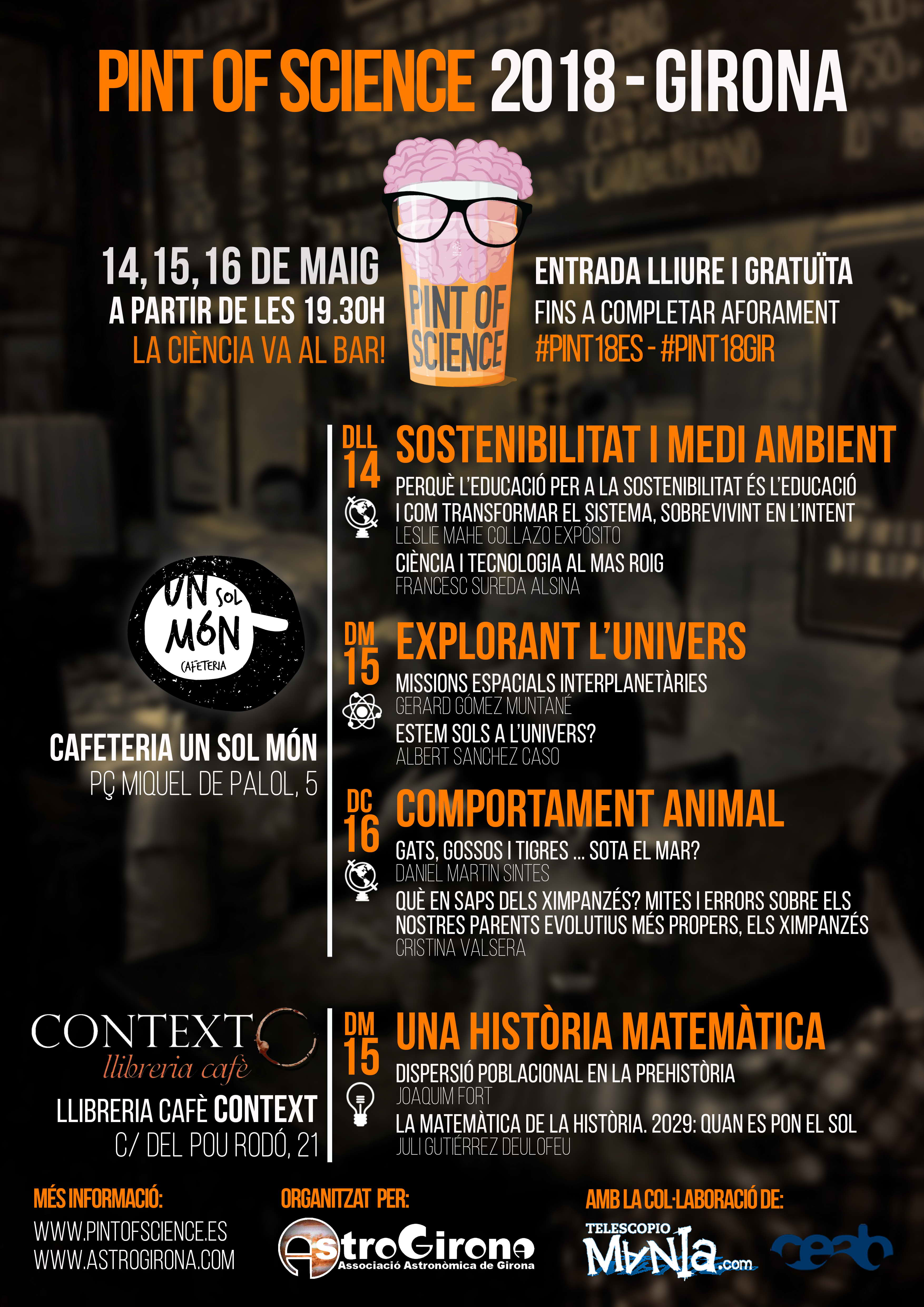Pint Of Science Girona 2018