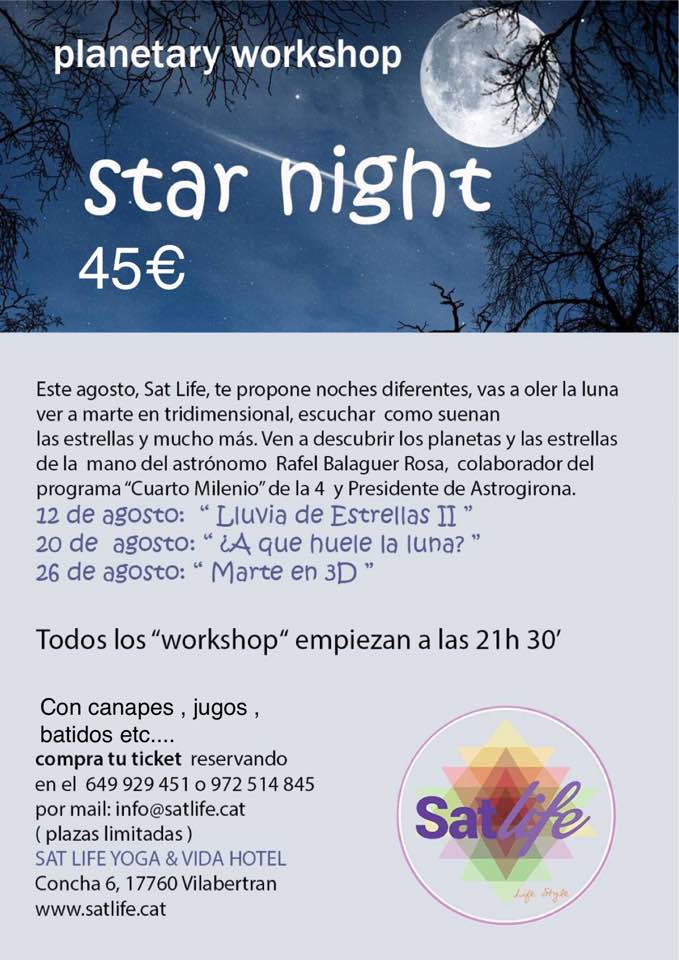 Star Night a Sat Life